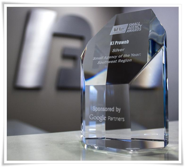 google small agency award nominee