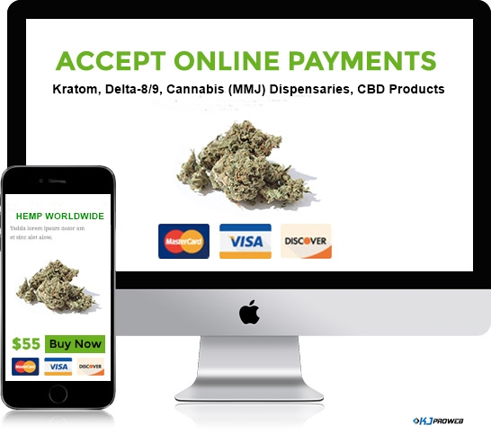 KJ PROWEB online payments credit card dispensary