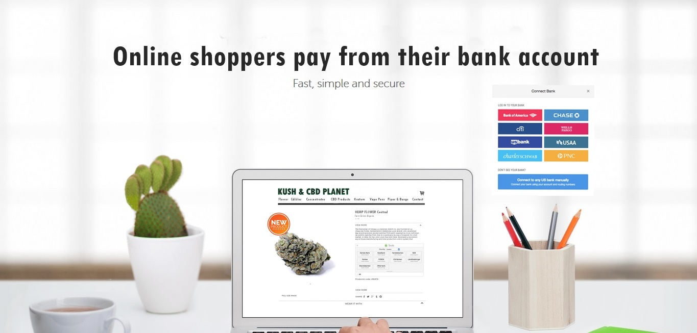 shop and pay from your bank account by KJ Proweb